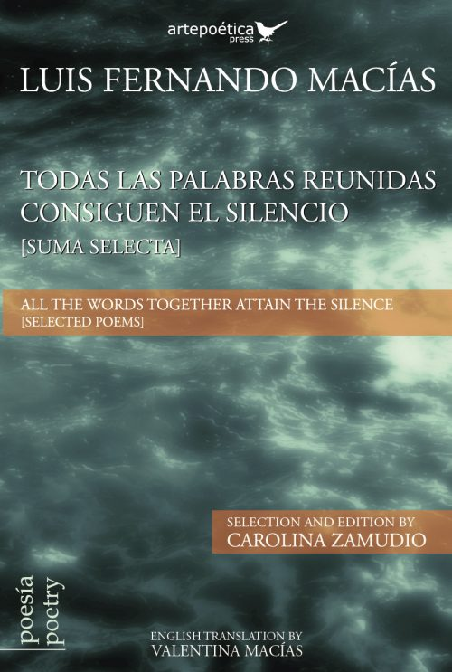 Todas las palabras reunidas consiguen el silencio / All the words together attain the silence